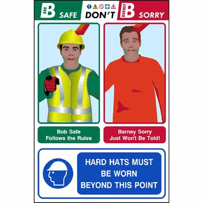 Hard hats must be worn... (Bob & Barney)
