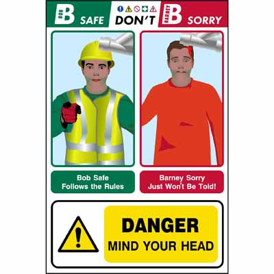 Danger - Mind your head (Bob & Barney)