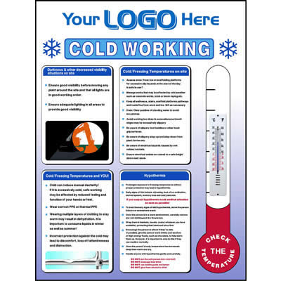 Cold working sign