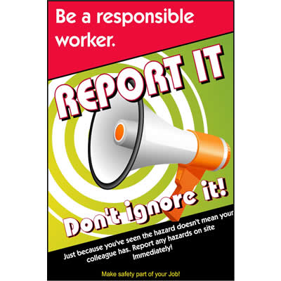Be a responsible worker