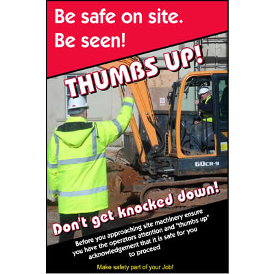 Be safe on site - Be seen!