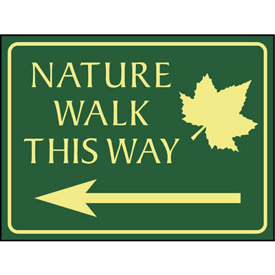 Nature walk this way (Left)