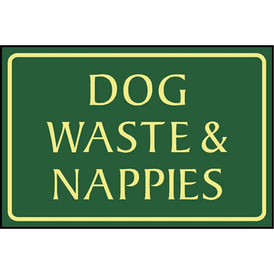Dog waste & nappies
