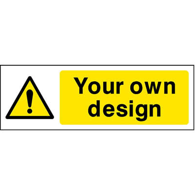 Custom Sign 2 - Warning