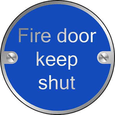 Fire door keep shut (Disc)