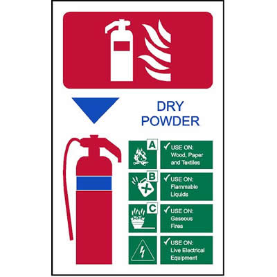 Extinguisher Code - Dry Powder