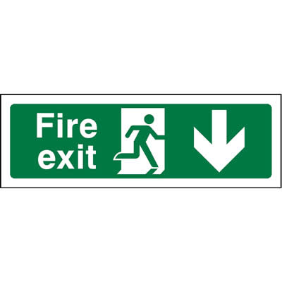 Fire Exit Down