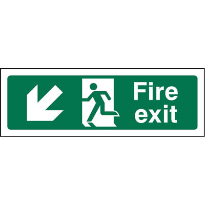Fire Exit Left Down
