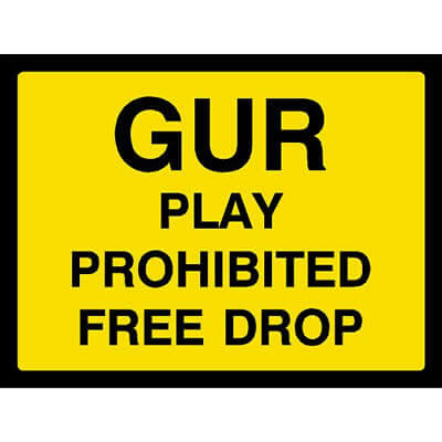 GUR Play prohibited free drop