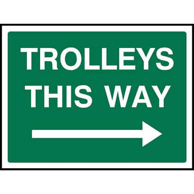 Trolleys this way (Right)