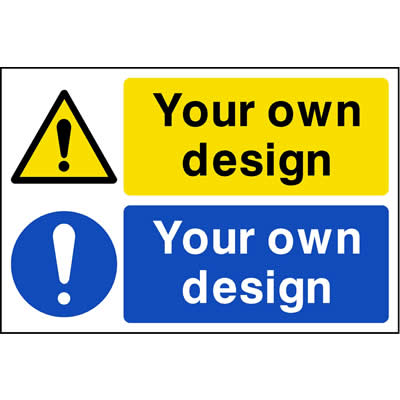 Warning & Mandatory Custom Signs