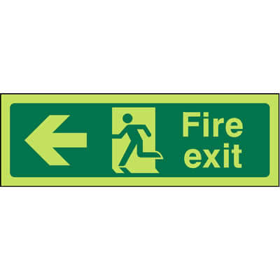 Fire Exit Left (Luminous)