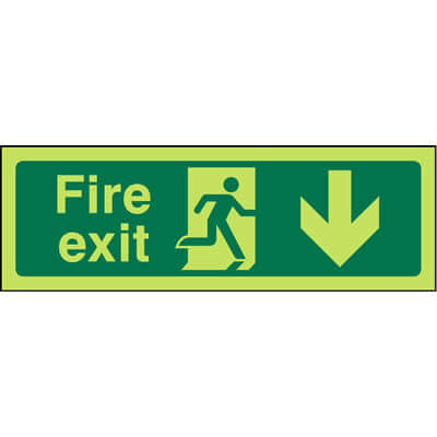 Fire Exit Down (Luminous)