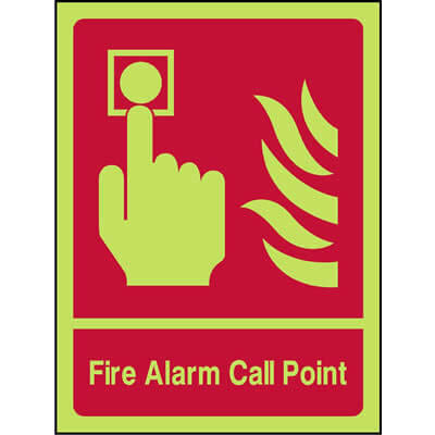 Fire alarm call point (Luminous)