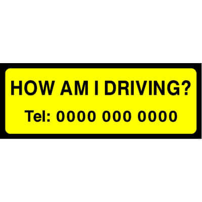 How am I driving?