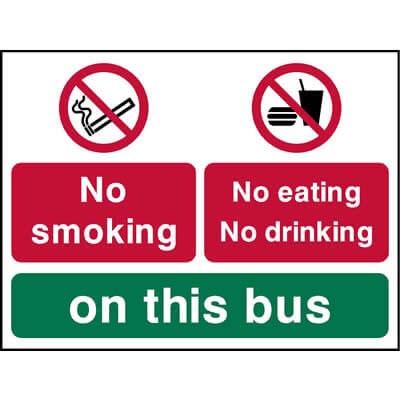 No Eating Or Drinking On The Bus