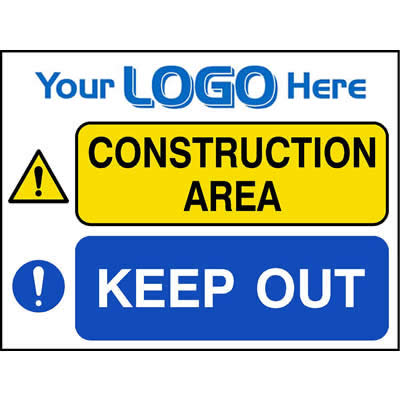 Construction area - Keep out (Quickfit)