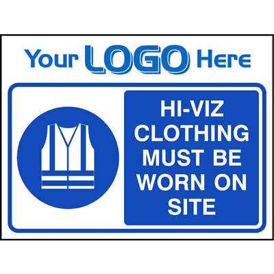 Hi-viz clothing must be worn on site (Quickfit)