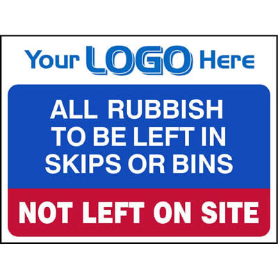 All rubbish to be left in skips or bins (Quickfit)