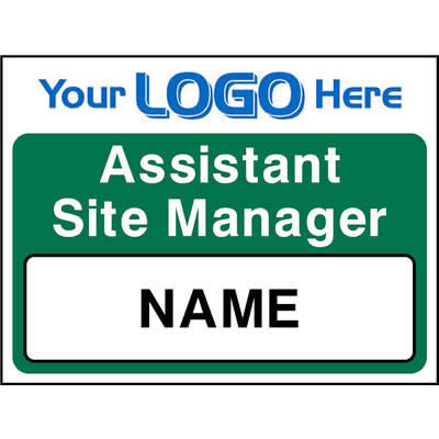 Assistant Site Manager Sign