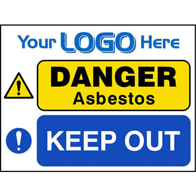 Asbestos - Keep out (Quickfit)