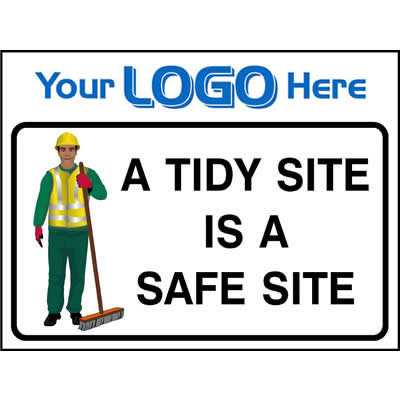 A tidy site is a safe site (Euro)