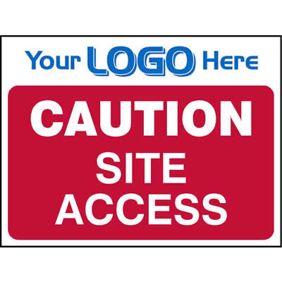 Caution - Site access (Euro)