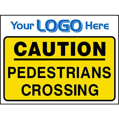 Caution - Pedestrians crossing (Quickfit)