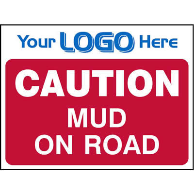 Caution - Mud on road (Quickfit)