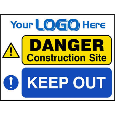 Danger - Construction site - Keep out (Euro)