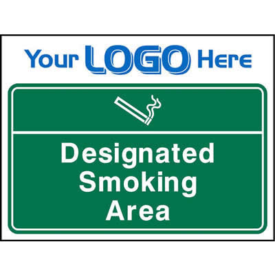 Designated smoking area (Euro)