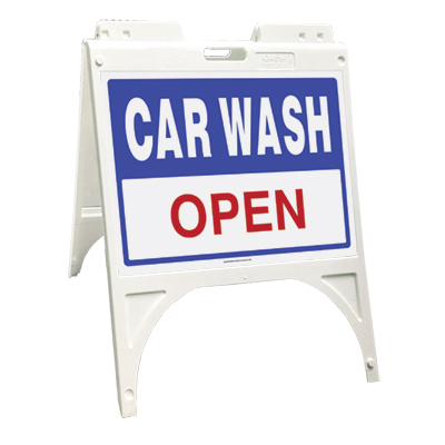 Car wash open (Quik Sign)