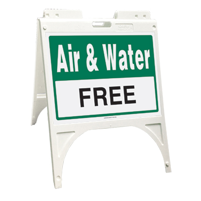 Air & water free (Quik Sign)