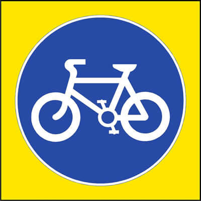Cycle route (Non-Spec)
