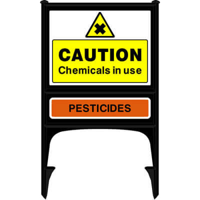 Chemicals in use - Pesticides + arrow (Realicade)