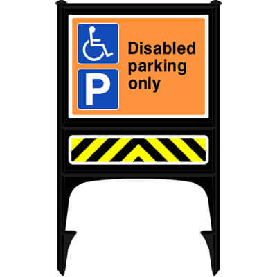 Disabled parking only (Realicade)