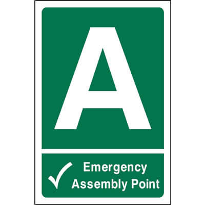 Emergency assembly point A
