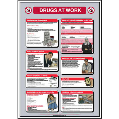 Drugs at Work Poster