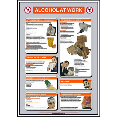 Alcohol at Work Poster