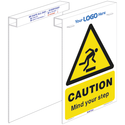 Caution - Mind your step (SCAF-FOLD)
