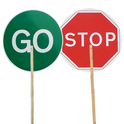 Stop/Go Lollipop